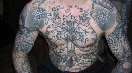 Tatuaje de Vor y Zakone. El Magacín.