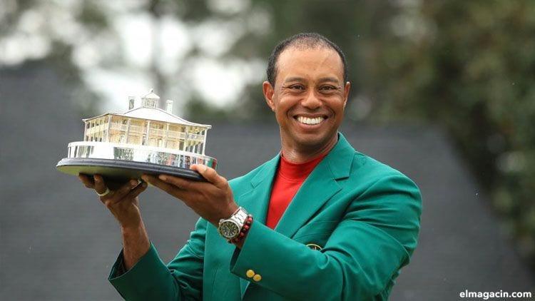 Tiger Woods. Uno de los 20 jugadores que más ingresan al año.