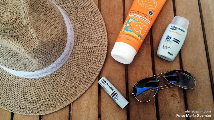 Cómo no quemarse en la playa con el sol. Consejos y tips.