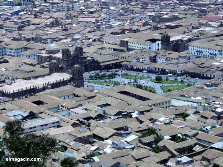 Panorámica de la ciudad de Cuzco. El Magacín.