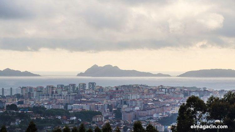 Vistas de Vigo. El Magacín.