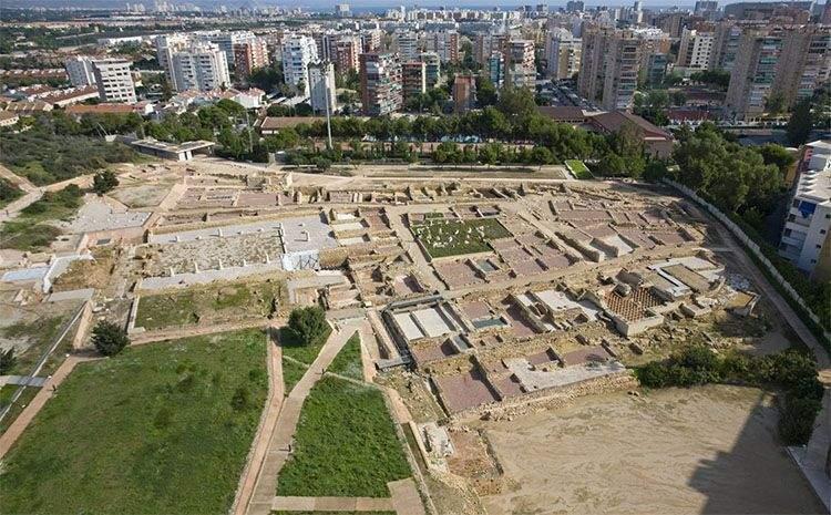 Yacimiento de la ciudad romana de Lucentum (Alicante)